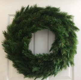 NORTHERN SPRUCE WREATH 50 CM