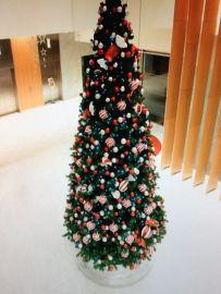 4 METER GIANT CHRISTMAS TREE - white LED